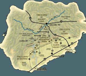 cliffs map location